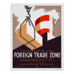 Staten Island Trade 1937 WPA Poster