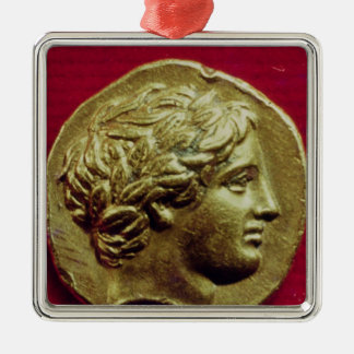 Stater of Philip II  King of Macedonia Christmas Ornament