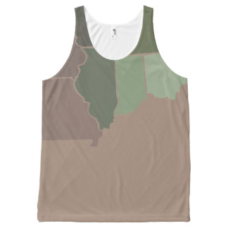 States Camo All-Over Print Tank Top