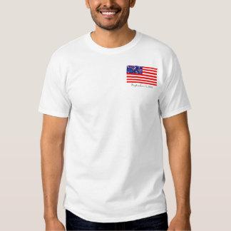 states for stars us flag tshirt