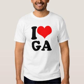States - Georgia Tee Shirts