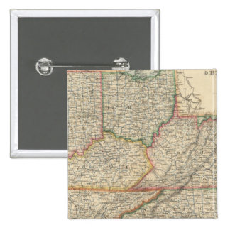 States of Delaware and Maryland 15 Cm Square Badge