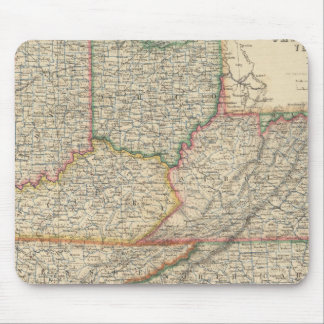 States of Delaware and Maryland Mouse Mat
