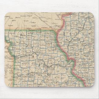 States of Illinois, Missouri, and Arkansas Mouse Mat