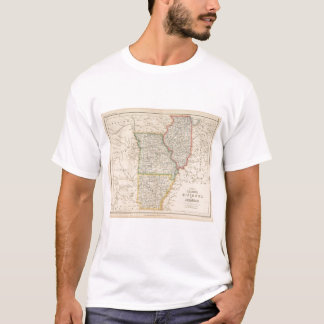 States of Illinois, Missouri, and Arkansas T-Shirt