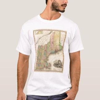 States of Maine, New Hampshire, Vermont T-Shirt