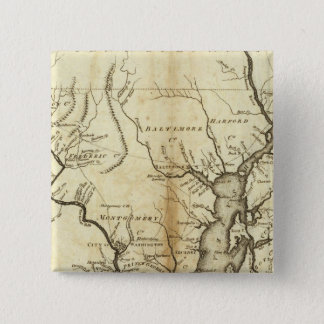 States of Maryland and Delaware 15 Cm Square Badge