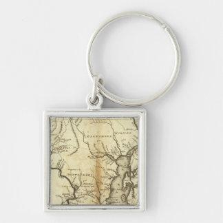 States of Maryland and Delaware Key Ring