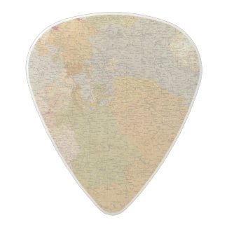 States of the Late Germanic Confederation Acetal Guitar Pick
