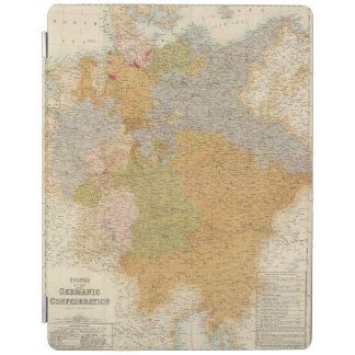 States of the Late Germanic Confederation iPad Cover