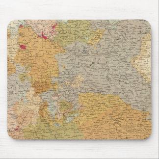 States of the Late Germanic Confederation Mouse Mat