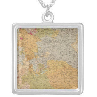 States of the Late Germanic Confederation Silver Plated Necklace