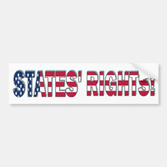 States Rights Bumper Sticker