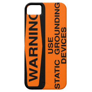 static grounding device barely there iPhone 5 case