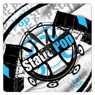 Static Pop Clock