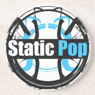 Static Pop Coaster