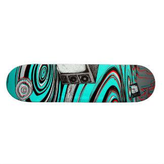 static skate board deck