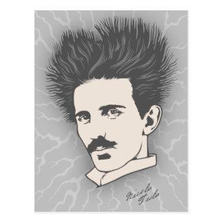 Static Tesla Postcard