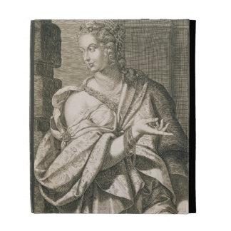 Statilia Messalina third wife of Nero (engraving) iPad Folio Case