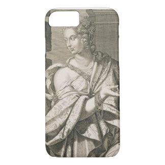 Statilia Messalina third wife of Nero (engraving) iPhone 8/7 Case