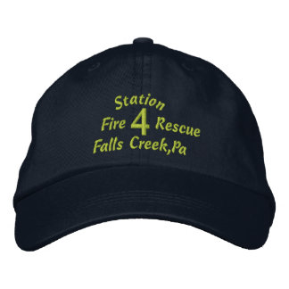 Station, 4, Falls Creek,Pa, Fire, Rescue-Hat Embroidered Hats
