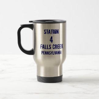 Station, 4, Falls Creek, Pennsylvania, FireRescue Travel Mug