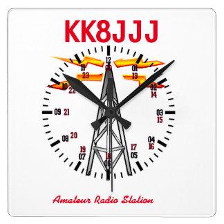 Station Clock for Ham Radio Operators