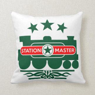 Station Master Cushion