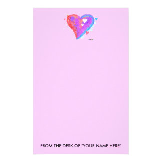STATIONARY - Torn Heart Custom Stationery