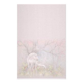 Stationary - Unicorn Spring Blooms Customised Stationery