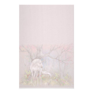 Stationary - Unicorn Spring Blooms Stationery