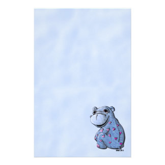 Stationery - Haley Hippo