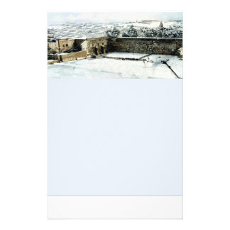 Stationery of Kotel in the snow Custom Flyer