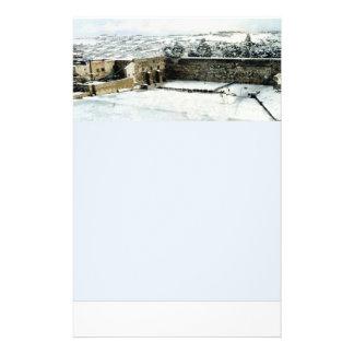 Stationery of Kotel in the snow Custom Flyer