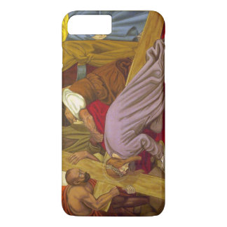 Stations of the Cross 9 Jesus Falls the Third Time iPhone 7 Plus Case