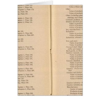 Statistical atlas 1900 9 card