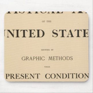 statistical atlas mouse pad