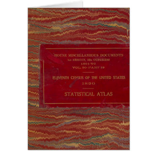 Statistical atlas United States Card