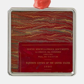 Statistical atlas United States Christmas Ornament
