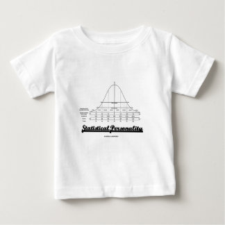 Statistical Personality (Bell Curve) T-shirt