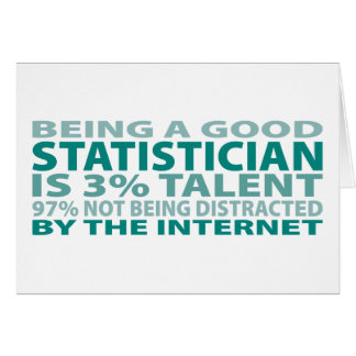 Statistician 3% Talent Card