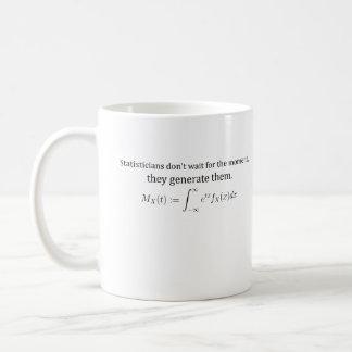 Statisticians don't wait mug