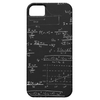 Statistics blackboard barely there iPhone 5 case