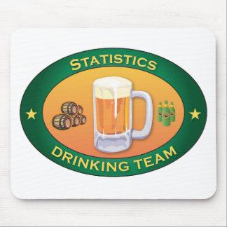 Statistics Drinking Team Mouse Mat