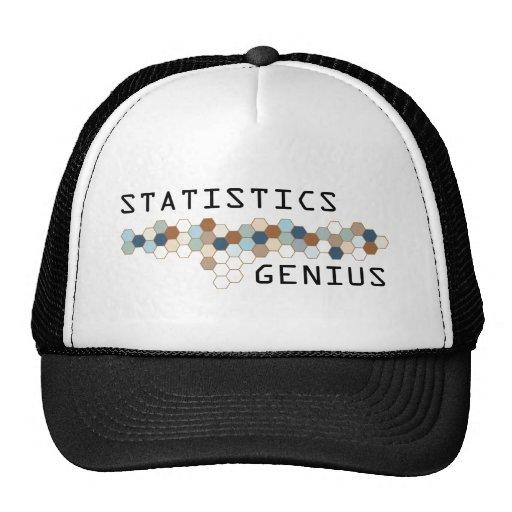 Statistics Genius Trucker Hats