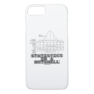 Statistics In A Nutshell Stats Cheat Sheet iPhone 8/7 Case