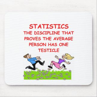 statistics joke mouse mat