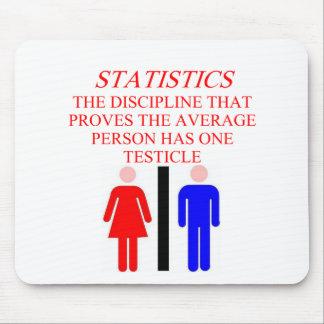 STATISTICS MOUSE MAT