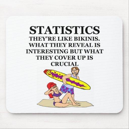 statistics mousepads