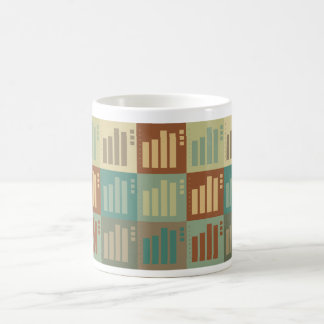 Statistics Pop Art Coffee Mug